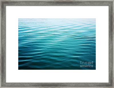 Framed Print featuring the photograph Ripples by Sylvia Cook