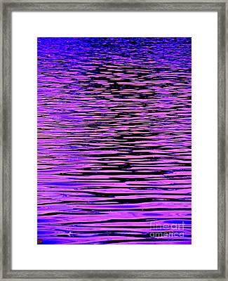 Ripples Xtreem Framed Print