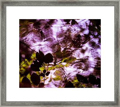 Framed Print featuring the  Rippling Reflections by Haren Images- Kriss Haren