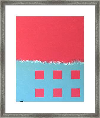 Riptide Framed Print by Thomas Gronowski