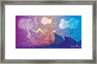 Rise Above The Storm Framed Print by Tim Ford
