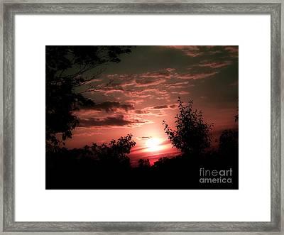 Rise An Shine IIi Framed Print by Scott B Bennett