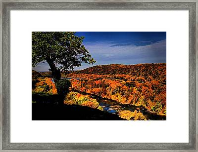 Framed Print featuring the photograph Rise And Look Around You by Robert McCubbin