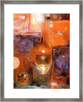 Framed Print featuring the painting Rise And Shine 1 by Brooks Garten Hauschild