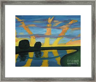 Rise And Shine Framed Print by Annette M Stevenson