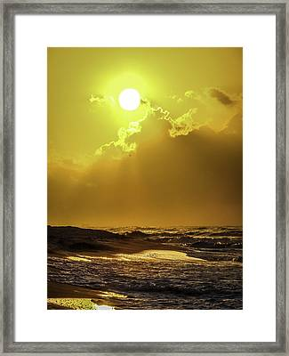 Rise And Shine Framed Print by CarolLMiller Photography