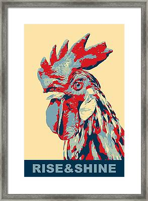 Rise And Shine Framed Print by Dan Sproul