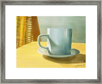 Rise And Shine Framed Print by Joan A Hamilton