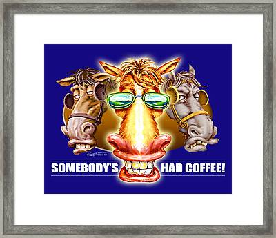 Rise And Shine Framed Print by Nate Owens