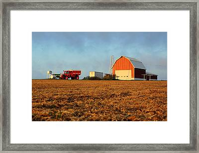 Framed Print featuring the photograph Rise And Shine by Viviana  Nadowski