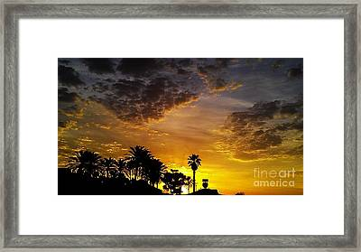 Rise Framed Print by Chris Tarpening