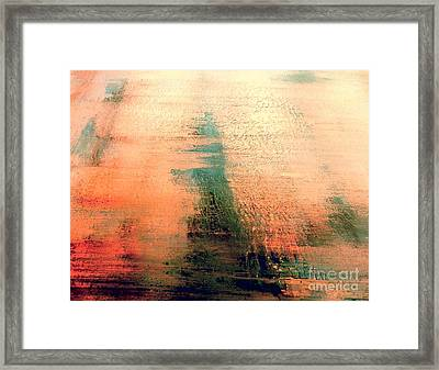 Framed Print featuring the painting Rise by Jacqueline McReynolds