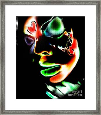 Rise Monarch Framed Print by Kandayia Ali