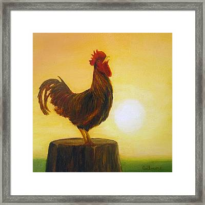 Rise 'n Shine Framed Print