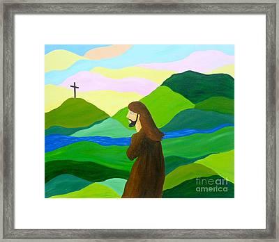 Risen  A New Dawn Framed Print by JoNeL Art