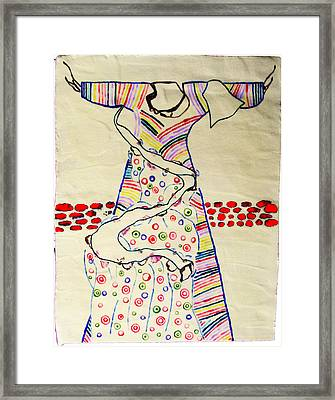 Risen Christ Framed Print by Gloria Ssali