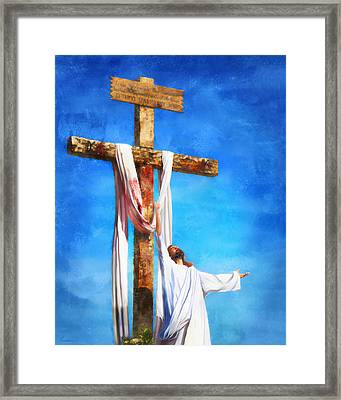 Risen Framed Print by Francesa Miller