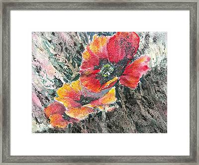 Rising Above Framed Print by Carolyn Rosenberger