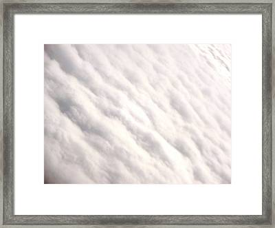 Rising Above It All Framed Print