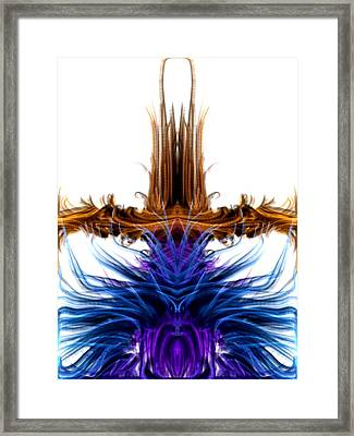 Rising Above Framed Print by Kruti Shah