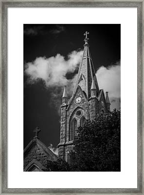 Rising Above The Clouds Framed Print