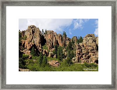 Rising Earth Framed Print