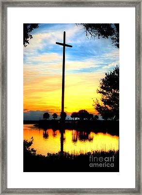 Rising Faith Framed Print by Debi and Grant McManus