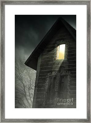 Rising Fog Framed Print