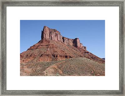 Rising From The Depths Framed Print by Bruce Bley