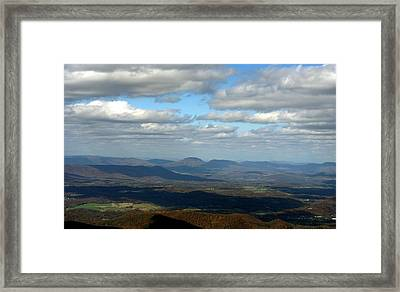Rising From The Shadows Framed Print