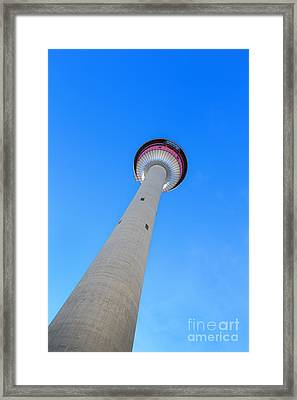 Rising High Framed Print by Evelina Kremsdorf