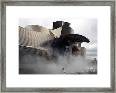 Rising Mist Framed Print by Juan Romagosa