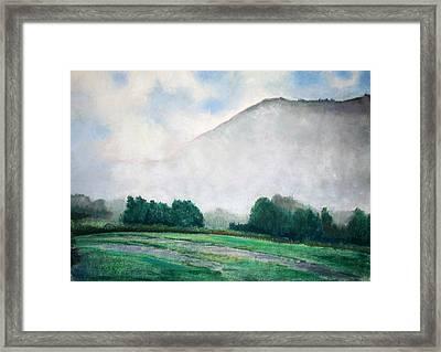 Rising Mist Framed Print