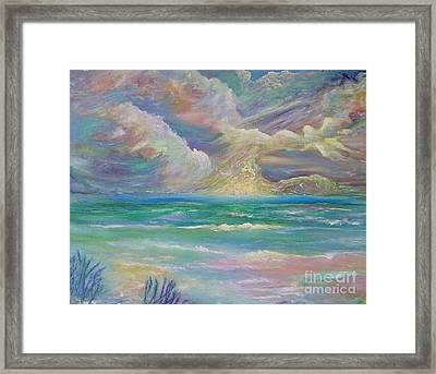 Rising Sea Framed Print