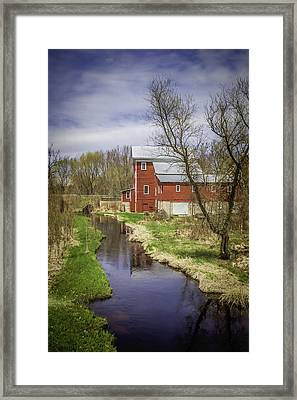 Rising Star Mill Framed Print by Thomas Young