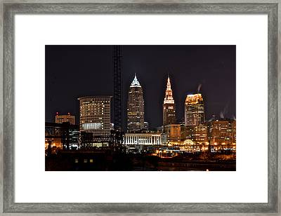 Rising Steam Framed Print by Frozen in Time Fine Art Photography