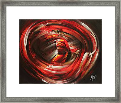 Rising Sun Framed Print by Karina Llergo