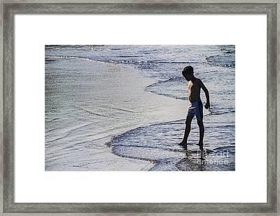 Rising Tides Framed Print by Soren Egeberg