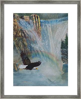 Rising Up With Eagle's Wings 2 Framed Print
