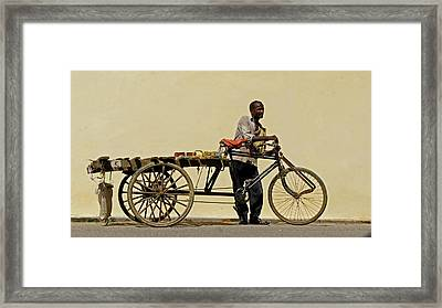 Risjah Framed Print by Kees Colijn