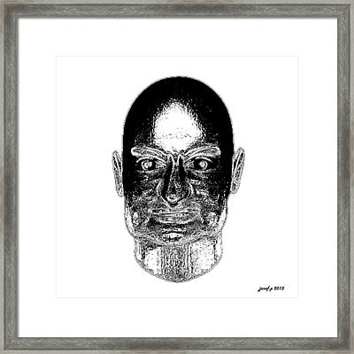 Risperidone Pointless Feelings Framed Print by Sir Josef - Social Critic -  Maha Art