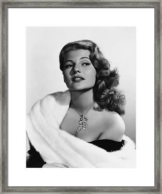 Rita Hayworth, Mid-1950s Framed Print by Everett