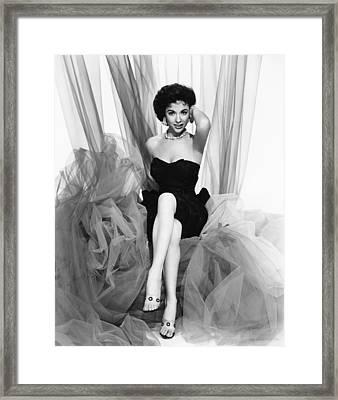 Rita Moreno, Paramount Portrait, Circa Framed Print by Everett