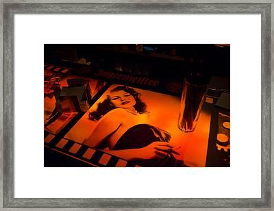Rita Framed Print by Pablo Lopez