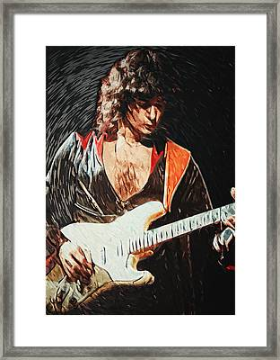Ritchie Blackmore Framed Print