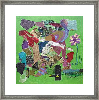 Rites Of Spring Framed Print by Shirley Shepherd