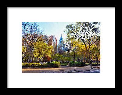 Rittenhouse Square Framed Prints