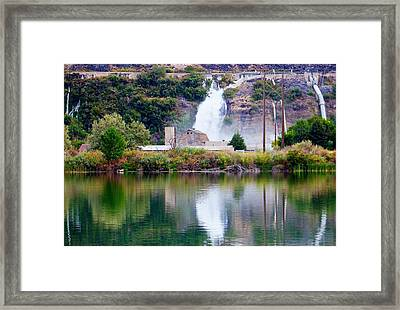 Ritter Island State Park Idaho Framed Print by Michael Rogers