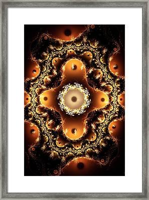 Ritual Layout Framed Print