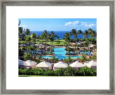 Ritz Carlton 17 Framed Print